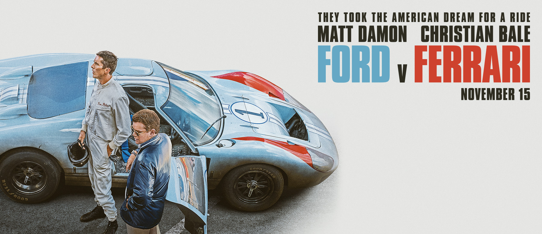 Cover for the Movie Ford v Ferrari